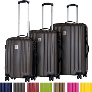 CalPak Morai Expandable 3-piece Hardside Spinner Luggage Set