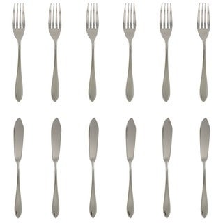 French Home 12-piece Stainless Steel Fish Set