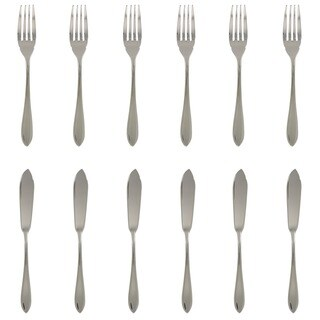 Le Brun 12-piece Stainless Steel Fish Set