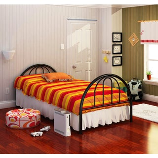 Brooklyn Black Twin Bed