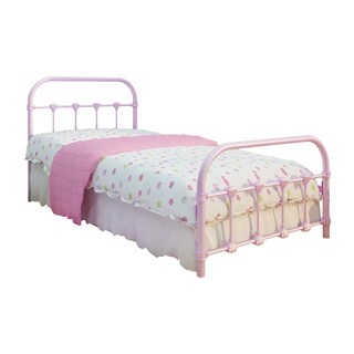 Lindsay Pink Twin Bed