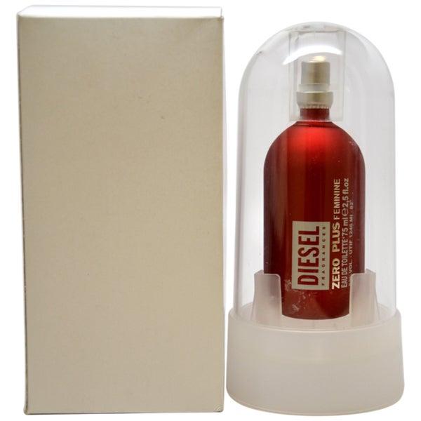 Diesel Zero Plus Women's 2.5-ounce Eau de Toilette Spray (Tester)