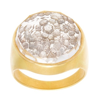 18k Yellow Gold 2ct TDW Frozen in Time Diamonds Estate Ring (J-K, I1-I2)