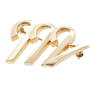 Tiffany & Co. 18k Yellow Gold Paloma Picasso Estate Brooch