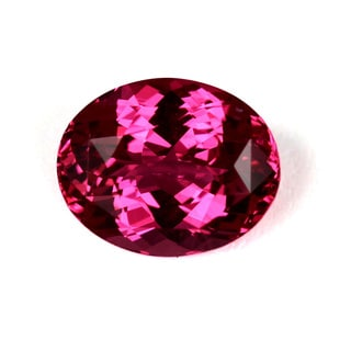 Sonia Bitton Rare Pink Oval-cut Spinel Gemstone