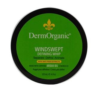 DermOrganics Windswept Defining Whip 4-ounce Hair Gel