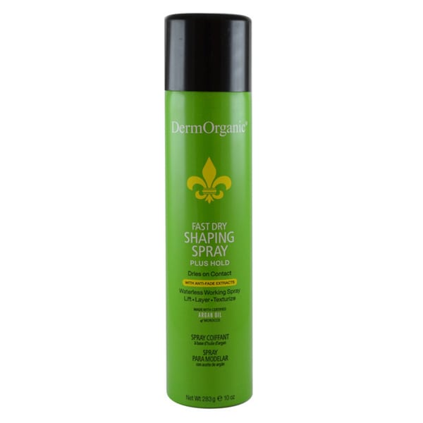 DermOrganics Fast Dry 10-ounce Plus Hold Shaping Spray