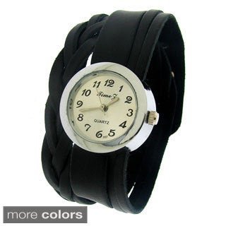 Moise Women's Braid and Smooth Watch