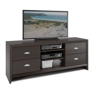 CorLiving Kansas Espresso Finish 59-inch TV Bench