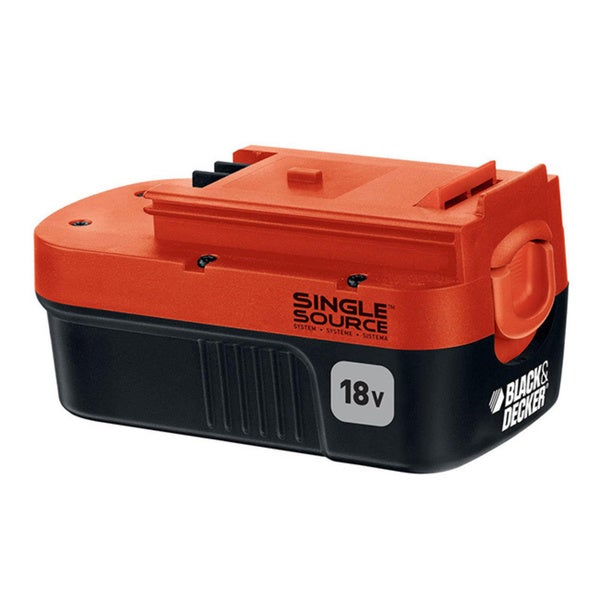 Black Decker 18volt Nicad Slide Pack Battery image