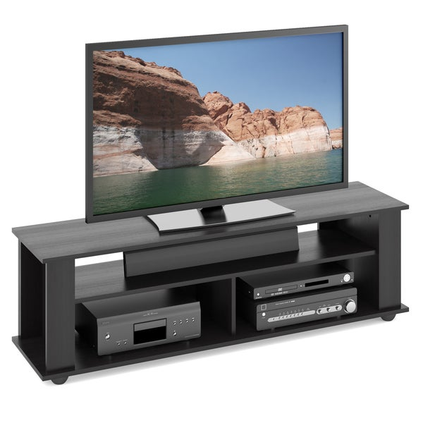 CorLiving Bakersfield Ravenwood Black TV/Component Stand