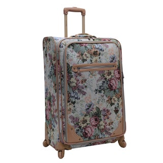 Oleg Cassini Balmoral 28-inch Expandable Spinner Upright Suitcase