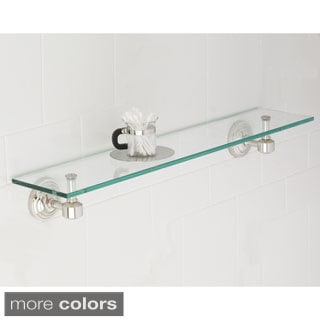 Emily Bathroom Glass Shelf