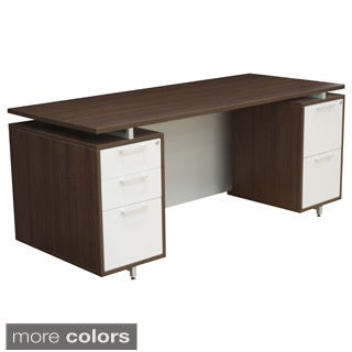 71-inch Double Pedestal Desk