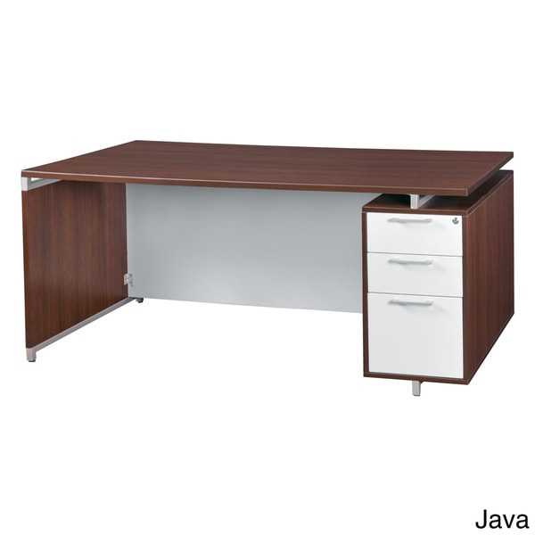 71-inch Single Pedestal Desk