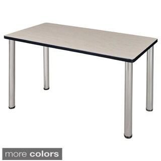 48-inch Kee Training Table - Chrome Legs