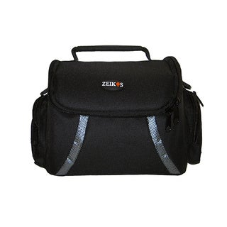 Zeikos ZE-CA48B Deluxe Soft Medium Camera and Video Carrying Case