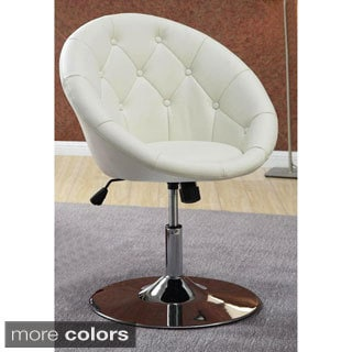 Aspire Contemporary Tufted Adjustable Swivel Chair