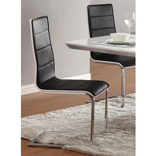 Monaco Design Two-tone Dinning Chairs (Set of 2)