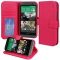 Abacus24-7 HTC ONE M8 Pink PocketBook Cover