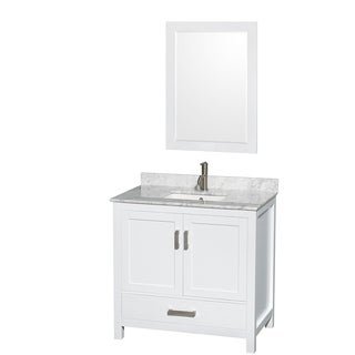 Sheffield White 36-inch Single Vanity