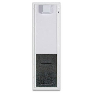 PlexiDor Electronic Pet Door Large Wall Mount