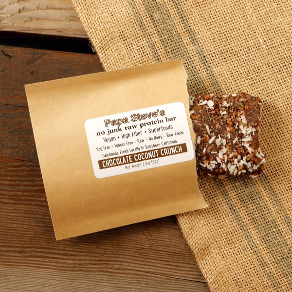 Papa Steve's Chocolate Coconut Crunch Bars