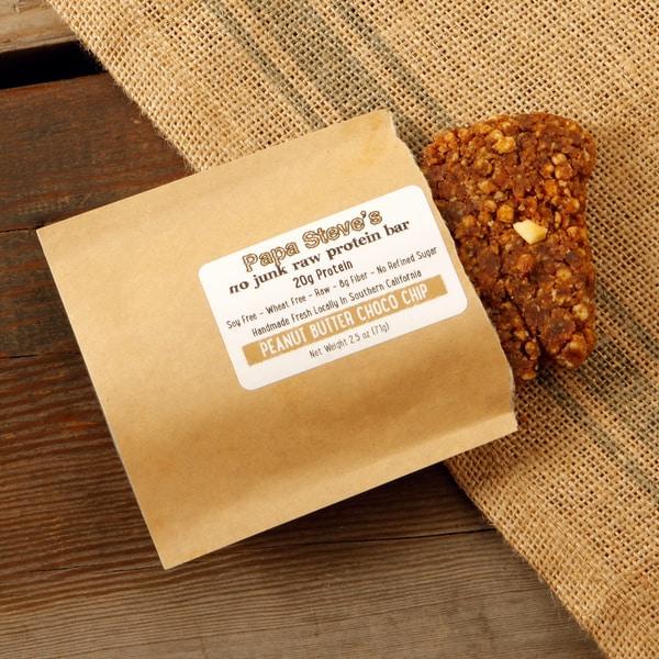Papa Steve's Peanut Butter Choco Crunch Bars