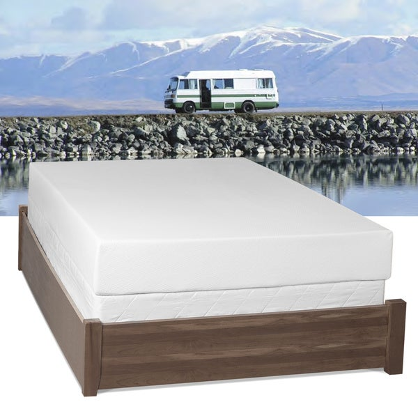 Select Luxury RV Medium Firm 10-inch Queen Short-size Gel Memory Foam Mattress