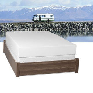 Select Luxury RV Medium Firm 10-inch Full Short-size Gel Memory Foam Mattress