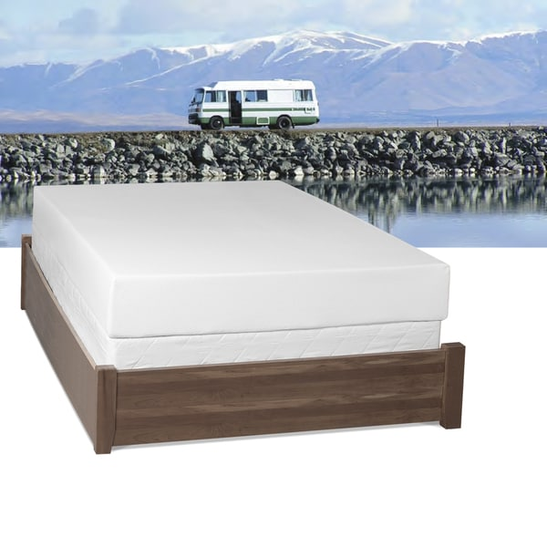 Select Luxury RV Medium Firm 10-inch Twin-size Gel Memory Foam Mattress