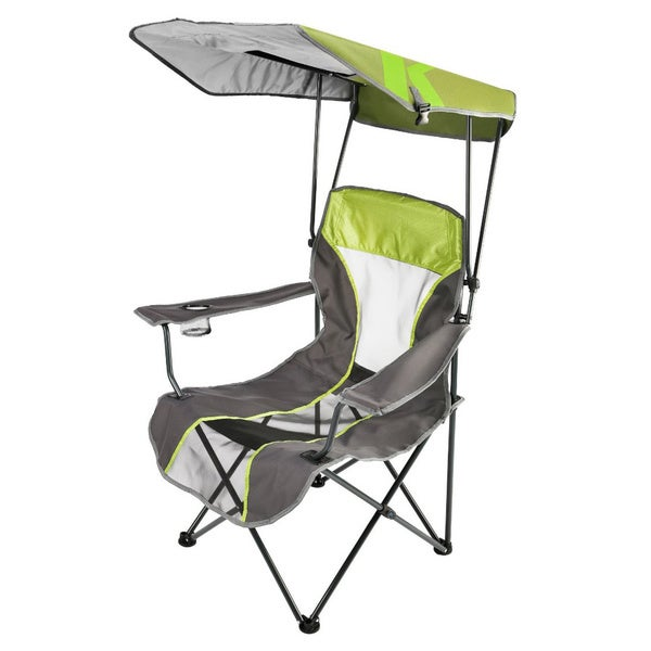 Premium Lime Green Canopy Chair