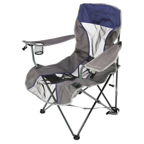 Navy Backpack Quad Chair
