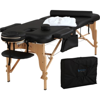 Sierra Comfort All-Inclusive Portable Massage Table