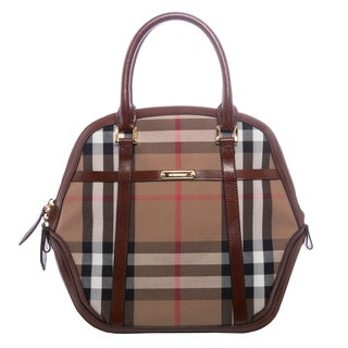 Burberry 'Orchard' Medium Bridled House Check Satchel