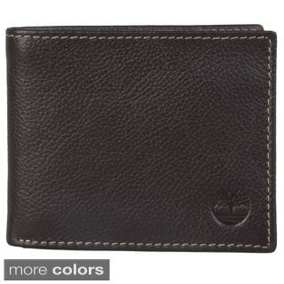 Timberland Men's Topstitched Passcase Wallet
