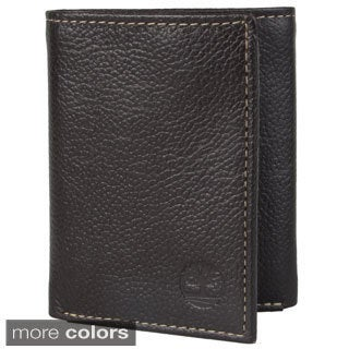 Timberland Men's Topstitched Tri-fold Wallet