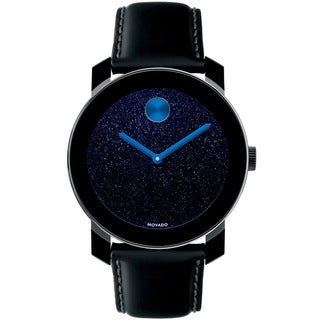 Movado Bold 3600137 Dark Blue Metallic Dial Watch