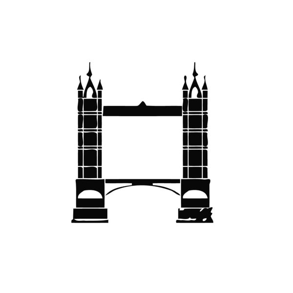 London Bridge Vinyl Wall Decal