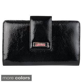 Kenneth Cole Reaction Women's Tab Top Utility Clutch Wallet