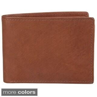 Joseph Abboud Men's Topstitched Bi-fold Wallet
