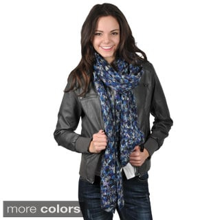 Journee Collection Women's Patterned Knit Scarf