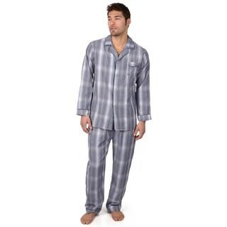 Boston Traveler TW Collection Men's 2-pc Long-sleeve Pajama Set