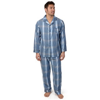 Boston Traveler TW Collection Men's 2-pc Long-sleeve Pajama Set