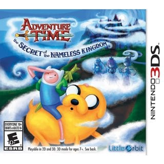 Nintendo 3DS - Adventure Time: The Secret of the Nameless Kingdom