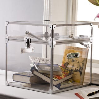 Pure Decor Clear Acrylic Trunk
