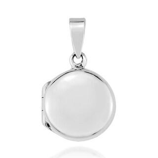 Round Mini Timeless Locket .925 Silver Pendant (Thailand)