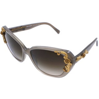 Dolce & Gabbana Women's 'Sicilian Baroque DG 4167 267913' Opal Cat-eye Sunglasses