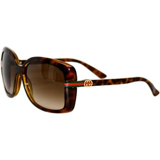 Gucci Women's '3188/S' Havana Sunglasses