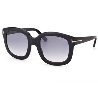 Tom Ford Women's 'TF 279 Christophe 01B' Black Sunglasses